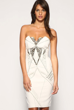 Picture of Party Lace Dress - Grouped
