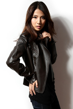 Picture of Biker Leather Design Jacket