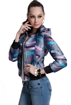 Picture of Autumn And Winder Stylish Slimfit Hooded Jacket