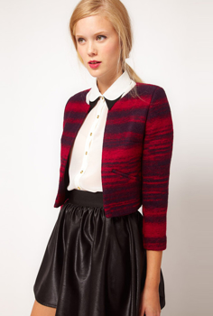Picture of Wool Cropped Jacket