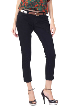 Picture of Women's Black Three Forth Length Panths