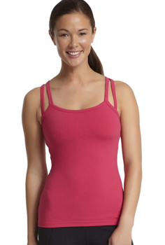 Picture of Long Red Women's Sports Top