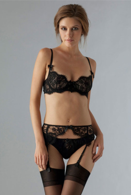 Picture of Fulfront Black Lace Brief
