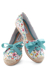 Picture of Colorful Styled White Flats - Grouped