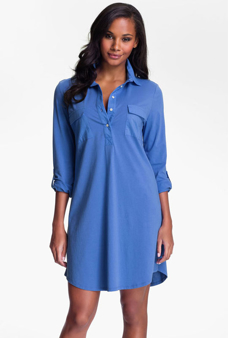 Picture of Blue Shirt Sleepwear - Multi-variant Blue Shirt Sleepwear - Variant 1