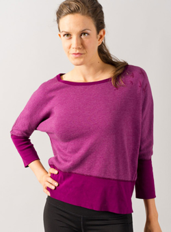 Picture of Purple Women's Sport Shirt - Variant 1